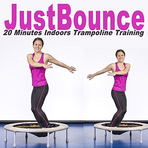 Justbounce-DJ-Mix-20-Minutes-Indoor-Trampoline-Training-Screw-Legs-and-Strong-Bungees-for-All-Levels