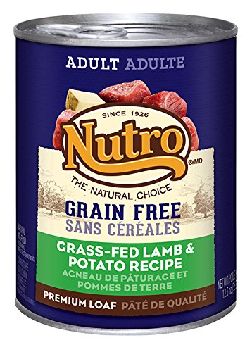 NUTRO Adult Grain Free Lamb and Potato Canned Dog Food, 12.5 oz. (Pack of 12) (Cheap Grain Free Dog Food compare prices)