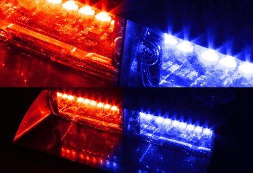 tocas 16led high intensity led law enforcement emergency hazard warning strobe lights for. Black Bedroom Furniture Sets. Home Design Ideas