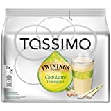 Tassimo Twinings Chai Latte Lemongrass, 16 T-Discs (8 Servings)