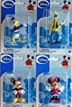 Mickey Mouse Clubhouse Figurines Mickey Minnie Donald