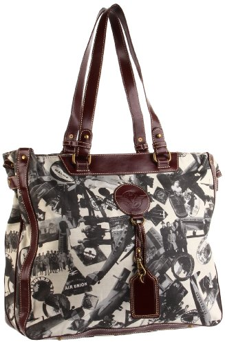 Sydney Love Going Places Large Tote,Stone,One Size
