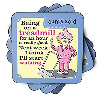 Aunty Acid -Being on a Treadmill available at Amazon for Rs.399