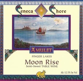 "Nv Seneca Shore Wine Cellars ""Moon Rise"", Finger Lakes Table Wine, Semi-Dry, 750 Ml"