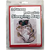 Emergency Survival 2 Person Reflective Mylar Sleeping Bag, 64 X 84 Inches, Emergency Zone, Survival Reflective Blanket