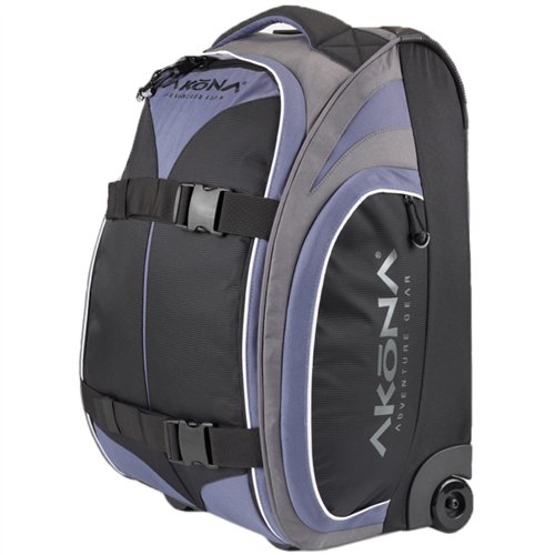 Akona Less Than 7 LB (3.2 kg) Carry On Roller Bag (AKB282)