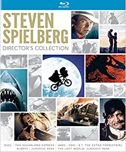 Steven Spielberg Director's Collection (Jaws / E.T. The Extra-Terrestrial / Jurassic Park / The Lost World: Jurassic Park / Duel / The Sugarland Express / 1941 / Always) [Blu-ray] by Universal Studios