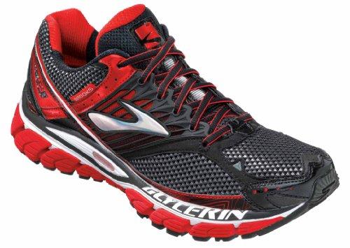 Brooks Brooks Men's Glycerin 10 Running Shoe,High Risk Red/Black/Silver,12 D US