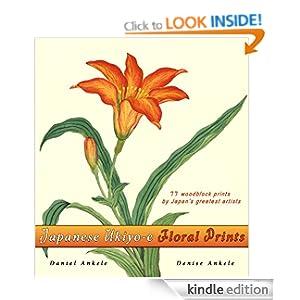 Japanese Ukiyo-e Floral Prints