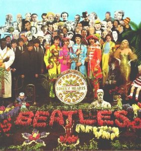 Original album cover of The Beatles Sgt Peppers Lonely Hearts Club Band by The Beatles
