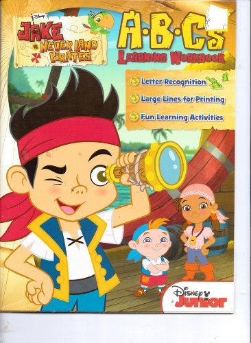 Jake & the Never Land Pirates A.B.C's Learning Workbook - 1