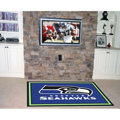 Fanmats Seattle Seahawks 5x8 Rug
