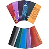 """Printed Yoga Mats, by Aurorae, 5mm Thick, 72"""" Long, Eco Safe, Non Toxic, Biodegradable, Amazing Prints and Colors, Over 1000 Reviews, Bonus Slip Free Rosin included, 2 Year Guarantee"""