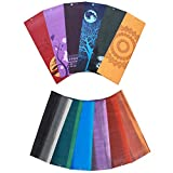 Aurorae Northern Lights/ Impression Yoga Mats. Unique Original Color/Print Designs. Eco Safe, Free from Toxins, Silicone, Phthalates and Latex. Bio-Degradeable with Full 2 year Guarantee