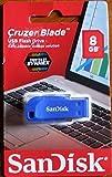 サンディスク Sandisk USBメモリ 8GB 超mini 高速 SDCZ50-008G (黒)(並行輸入品 パッケージ品)BLUE
