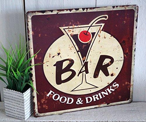 blechschild-blech-schild-kuche-metallschild-wandbild-cocktail-metall
