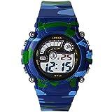 Hiwatch TM Waterproof 30M Outdoor with Alarm WOODLAND CAMO Digital Wrist Watches