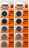 10 Pack Lithium Coin Battery - 3 Volt - For Keyless Entry and Remote Controls - CR2032 Size - Premium Quality Brand - Best Reviews Guide
