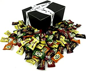 Bali's Best 6-Flavor Coffee and Tea Candy Assortment, 1 lb Bag in a Gift Box