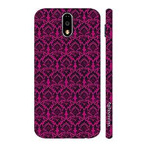 Enthopia Designer Hardshell Case Ethinic Pink Back Cover for Motorola G4 Play