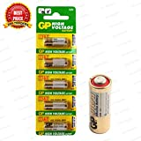 #2: TRP TRADERS 5 Pieces Pack of Original 23A GP 12V Alkaline Battery 12V 23A High Voltage Cell Car Remote Battery, 23AE-C5 A23 MN21 LRV08