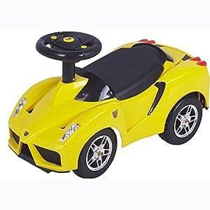 Bobby Car Rutschauto Rutschfahrzeug Rutscher Babyauto Lamborghini gelb neo4kids