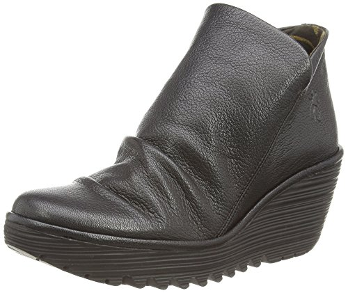 Fly London Yip - Stivaletti Donna, Nero (Black 017), 39 EU