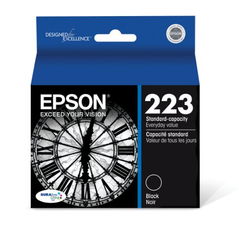 Epson T223120 DURABrite Ultra Standard-Capacity Black Ink Cartridge