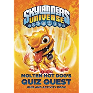 Molten Hot Dog's Quiz Quest (Skylanders Universe)