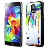 Cruzerlite Archan Nair Azalia Print Cases for Samsung Galaxy S5 (Retail Packaging)