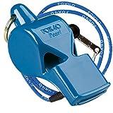 Fox 40 International Whistle Pearl (Pealess) Blue W/ Lanyard