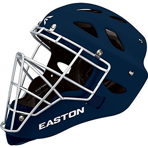 Easton Rival Catcher's Helmet, Navy, Large