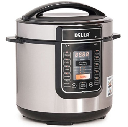 Electric Pressure Multi 14 Function Cooker Stainless Instant 1000 Watt 6-Quart Quick Programmable and Accessories (Anyone Can Cook In A Slow Cooker compare prices)