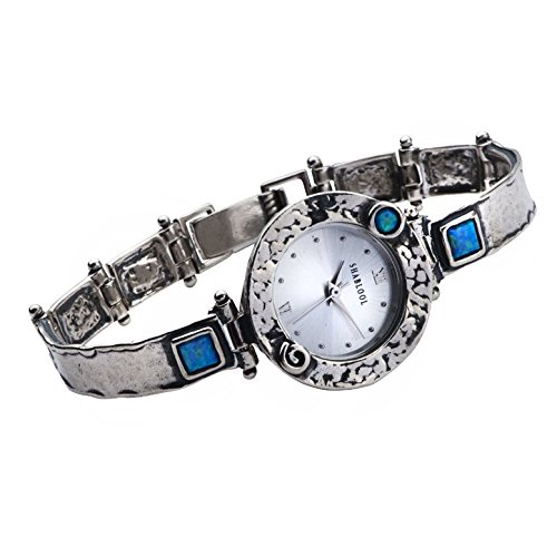 new-watches-blue-color-opal-cabochon-fashion-jewelry-44-mm-square-cabs