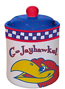 NCAA Kansas Gameday Cookie Jar
