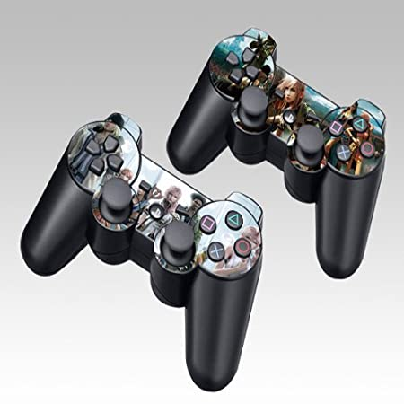 Final Fantasy Design Skin Decal Sticker for the PS3 (Playstation 3) Controller (2pcs in 1)