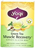 Yogi Green Tea Muscle Recovery, 16-Count Tea Bags (Pack of 6)
