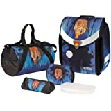 Herlitz 11350873 - Schulranzen-Set-5tlg Flexi Plus Tiger