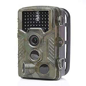 Distianert Caméra de Chasse avec lueur infrarouge basse pour les sentiers & les jeux de scoutisme, 12MP 1080P avec une portée de 25m et de 20m en vision de nuit, étanche IP56