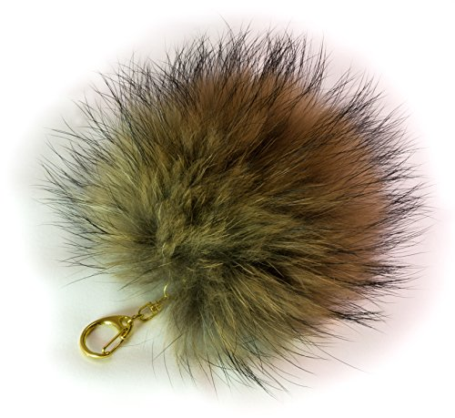 3-for-2-18cm-natural-mix-massive-soft-fluffy-raccoon-fur-large-pompom-big-designer-real-quality-fur-