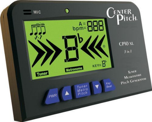 CenterPitch CP10XL Mic and Plug Tuner/Intonation