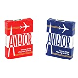 Aviator Poker Size Playing Cards, 3 Pack