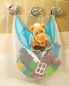 bathtub toy organizer bag holder the soapy saddlebag baby. Black Bedroom Furniture Sets. Home Design Ideas