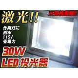 LED投光器 看板灯 集魚灯 作業灯 防水 家庭用もOK