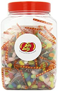 Jelly Belly Jar 50 Pyramid Party Bags