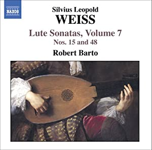 Weiss: Lute Sonatas, Vol. 7