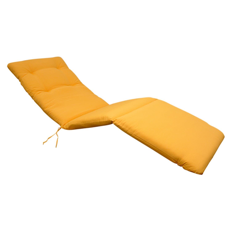 indoba® IND-70414-AUSL – Serie Relax – Auflage Gartenliege – Gelb günstig