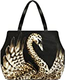 Just Cavalli Cavnas Swan Shoulder Bag Blue