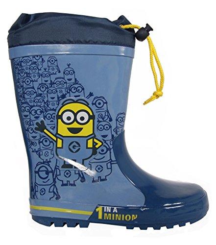 Stivali da pioggia per Bambino DISNEY 2304-968 AZUL size-map 32