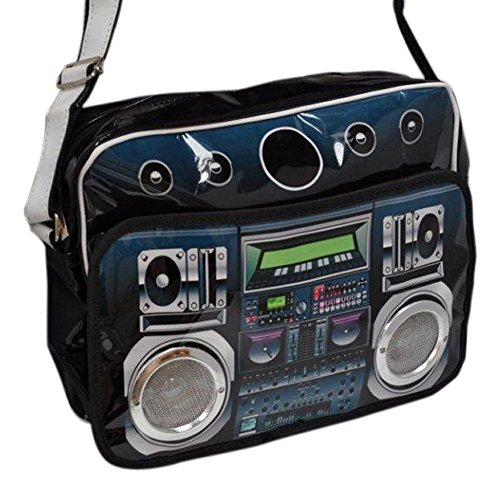 MP3 Plug-in Boombox Bag with real speakers!